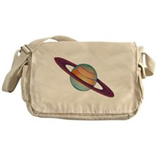 Planet Saturn Messenger Bag