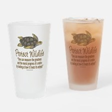 Protect Sea Turtles Drinking Glass