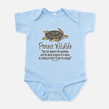 Protect Sea Turtles Infant Bodysuit