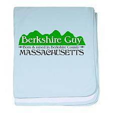 Cute Berkshire baby blanket