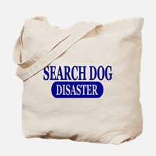 Disaster Search Dog Tote Bag