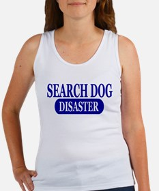 Disaster Search Dog Women's Tank Top