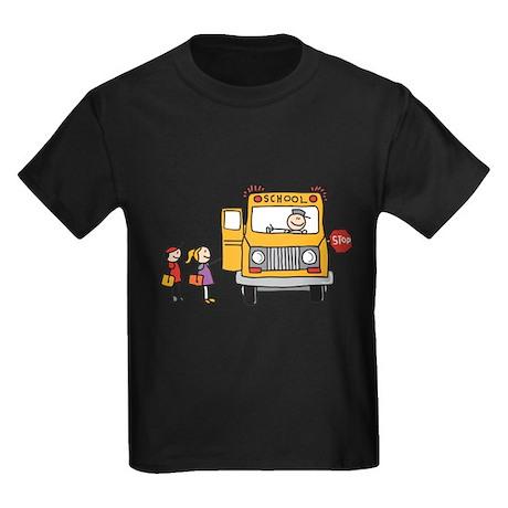 Back-to-School Kids Dark T-Shirt