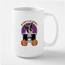 Just a Lil Spooky Boston Mug