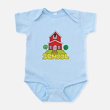 School House Infant Bodysuit