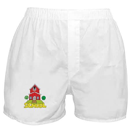 School House Boxer Shorts