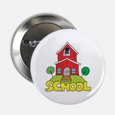 "School House 2.25"" Button"