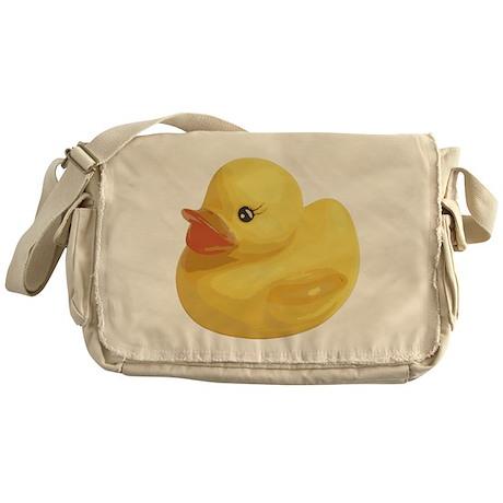 Rubber Duck Messenger Bag