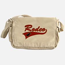 Rodeo Bull Rider Messenger Bag