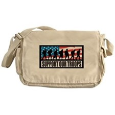 Support our troops - Infantry Messenger Bag