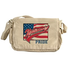 American Flag National Pride Messenger Bag