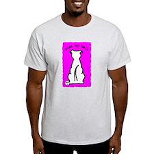 Kiss My Tail Ash Grey T-Shirt