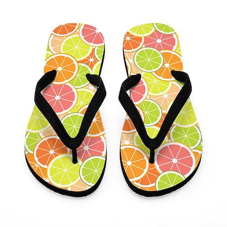 Citrus Fun Flip Flops