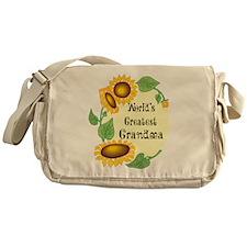 World's Greatest Grandma Messenger Bag