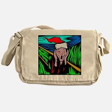 The Christmas Scream Messenger Bag