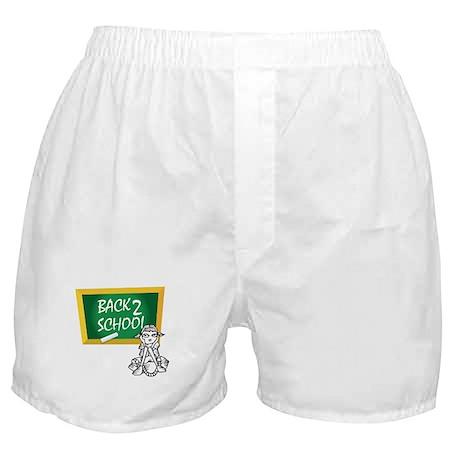 Back 2 School Boxer Shorts