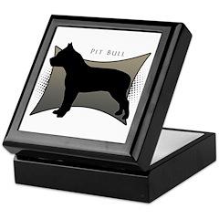 Pit Bull Keepsake Box