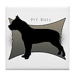 Pit Bull Tile Coaster