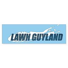 LAWN GUYLAND bumpersticker