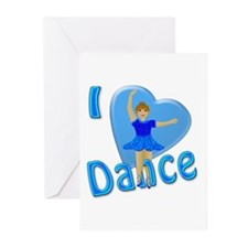 I Heart Dance Greeting Cards (Pk of 10)
