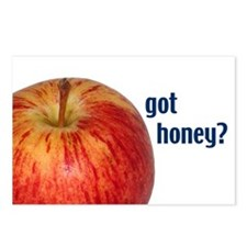 Jewish New Year Cards: Got Honey? Postcards (8)