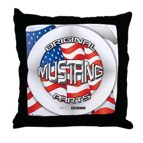 Mustang Original Throw Pillow