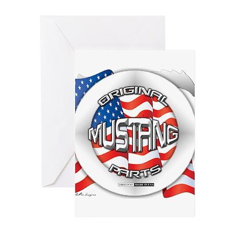 Mustang Original Greeting Cards (Pk of 20)