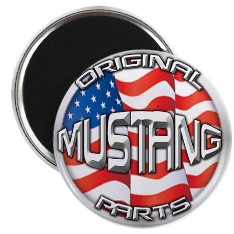"""Mustang Original 2.25"""" Magnet (10 pack)"""