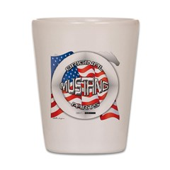 Mustang Original Shot Glass