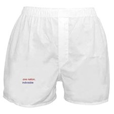 One Nation Indivisible Boxer Shorts