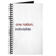 One Nation Indivisible Journal