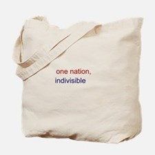 One Nation Indivisible Tote Bag