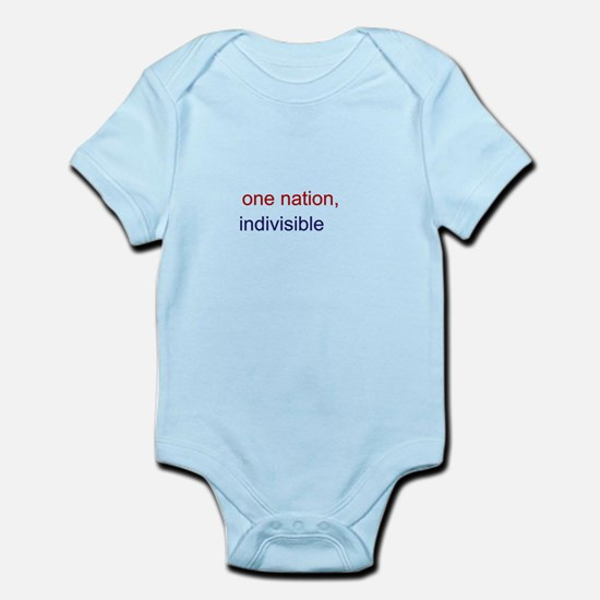 One Nation Indivisible Infant Bodysuit