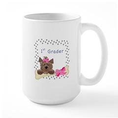 1st Grade School Large Mug