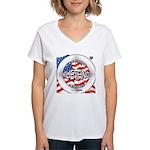 Mustang Classic 2012 Women's V-Neck T-Shirt