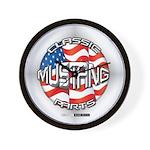 Mustang Classic 2012 Wall Clock