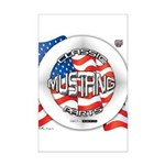 Mustang Classic 2012 Mini Poster Print