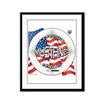 Mustang Classic 2012 Framed Panel Print