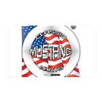 Mustang Classic 2012 38.5 x 24.5 Wall Peel