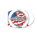 Mustang Classic 2012 22x14 Oval Wall Peel