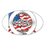 Mustang Classic 2012 Sticker (Oval 10 pk)