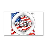 Mustang Classic 2012 Car Magnet 20 x 12