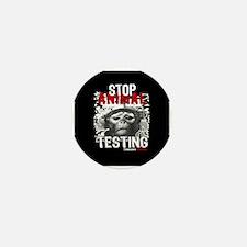 STOP ANIMAL TESTING - Mini Button (100 pack)