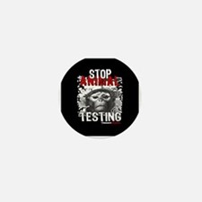 STOP ANIMAL TESTING - Mini Button
