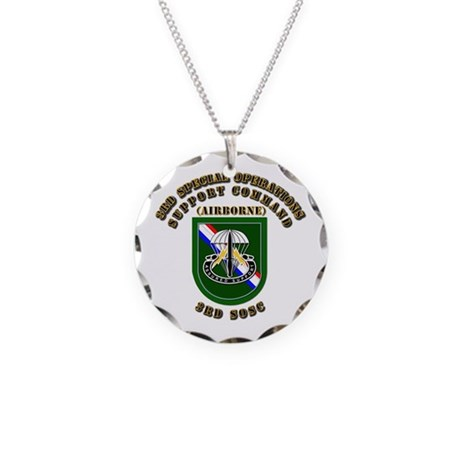 SOF - 3rd SOSC Necklace Circle Charm
