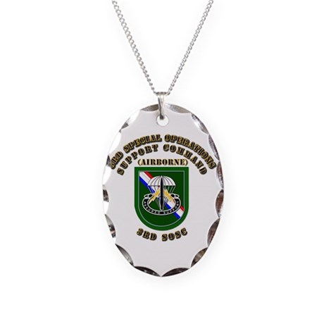 SOF - 3rd SOSC Necklace Oval Charm