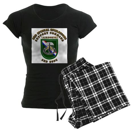 SOF - 3rd SOSC Women's Dark Pajamas