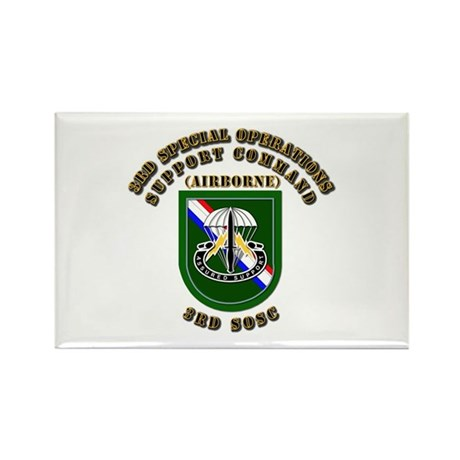 SOF - 3rd SOSC Rectangle Magnet (100 pack)