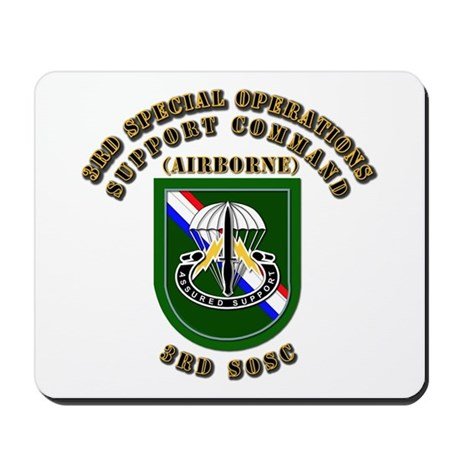 SOF - 3rd SOSC Mousepad