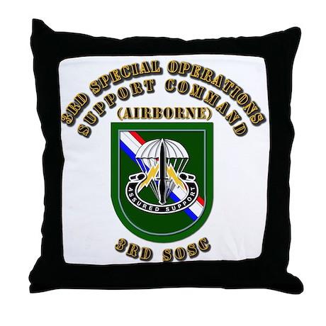 SOF - 3rd SOSC Throw Pillow